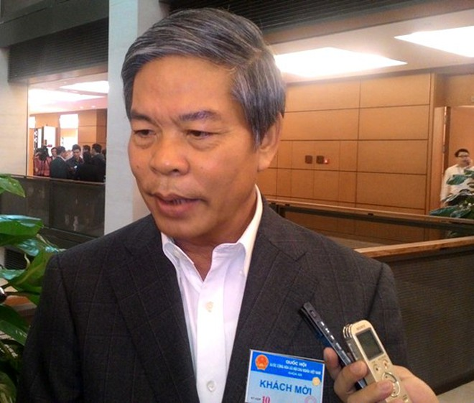 Bộ trưởng Bộ Tài nguyên và môi trường Nguyễn Minh Quang