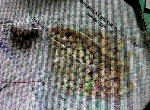Số ma túy tổng hợp thu được của Vương Tùng