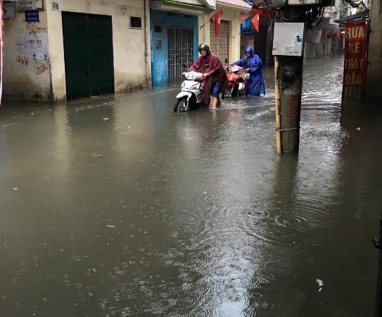 Khu H Tân Mai sau một cơn mưa dai... ảnh 2