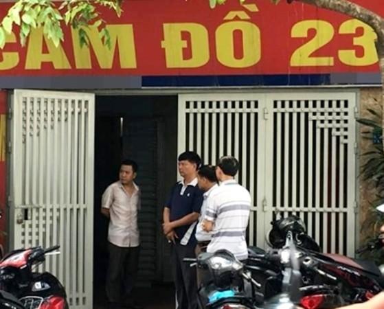 Đối tượng Trường đột nhập vào bên trong ngôi nhà số 23, đường Xuân Thủy, quận Cầu Giấy , cướp đi mạng sống của anh Nguyễn Quang Anh