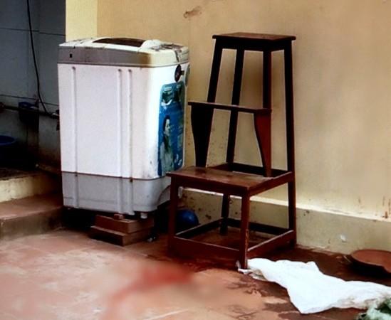 Hiện trường vụ án mạng với tính chất đầu trộm, đuôi cướp xảy ra tại xã Canh Nậu, huyện Thạch Thất