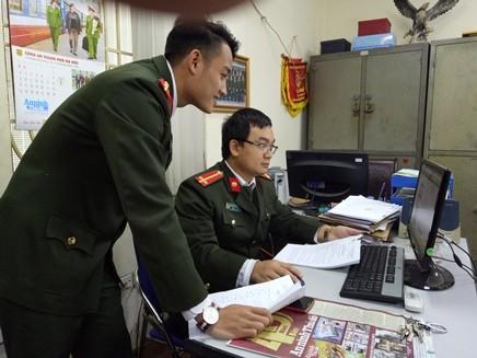 CAH Đông Anh thực hành công tác lưu giữ tài liệu công tác vào hệ thống mạng nội bộ