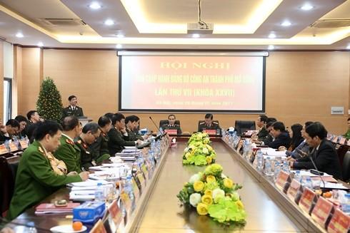 Hội nghị sôi nổi tham luận về công tác xây dựng Đảng, XDLL - CAND