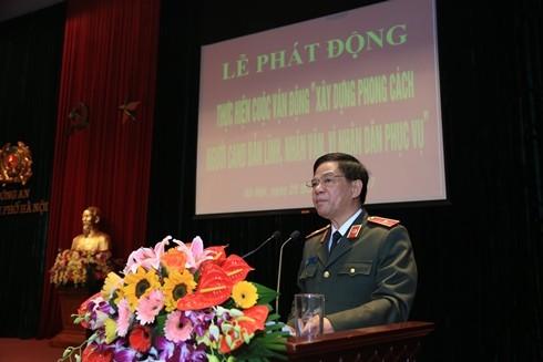 Thiếu tướng Đoàn Duy Khương phát biểu chỉ đạo tại hội nghị