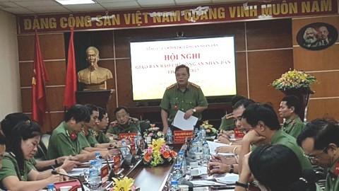 Đại tá Nguyễn Hải Trung - Phó Tổng cục trưởng Tổng cục Chính trị CAND