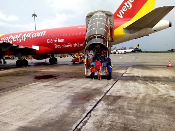Đảm bảo an ninh, an toàn các chuyến bay đến và đi tại Sân bay Quốc tế Nội Bài
