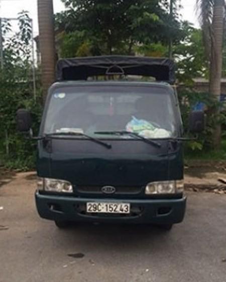Chiếc xe ô tô nhóm Tăng Thái Thịnh sử dụng vận chuyển ma túy