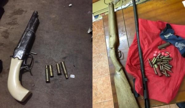 Hung khí và vũ khí tự chế của tội phạm cướp tài sản