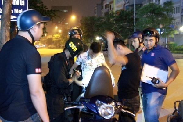Lực lượng Công an Hà Nội thực hiện Mệnh lệnh 01 của Giám đốc CATP, đảm bảo ANTT ban đêm trên đường phố