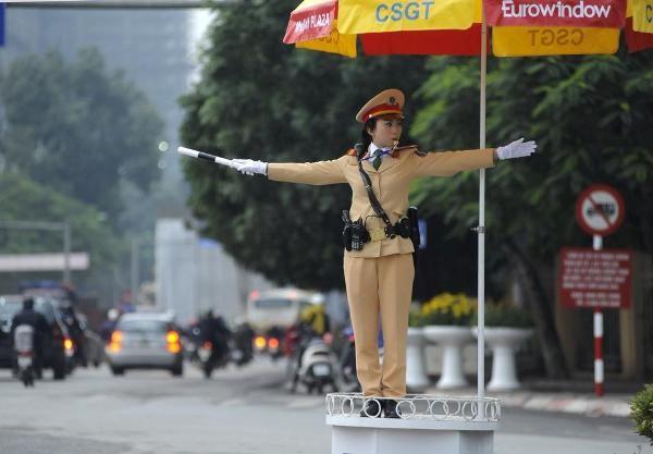 CSGT Hà Nội phân luồng đảm bảo TTATGT dịp Tết Mậu Tuất 2018