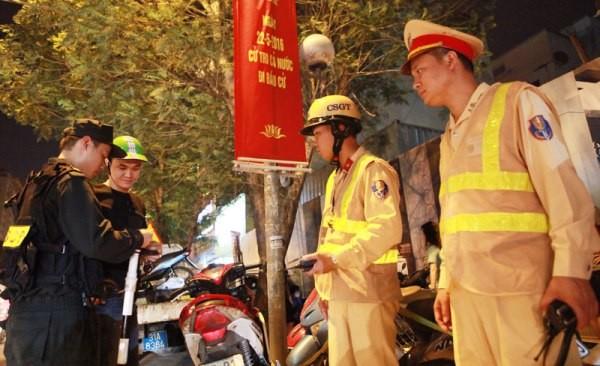 Nhiều biện pháp đảm bảo trật tự an toàn giao thông Thủ đô trong tình hình mới