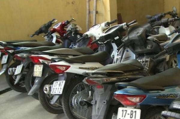 Xe máy là tài sản dễ bị tội phạm nhằm vào gây án trộm cắp, tiêu thụ của gian