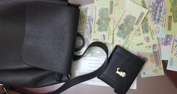 Tang vật vụ trộm do Thành cùng đồng phạm gây ra tại ngã tư Liễu Giai - Đào Tấn ngày 8-3