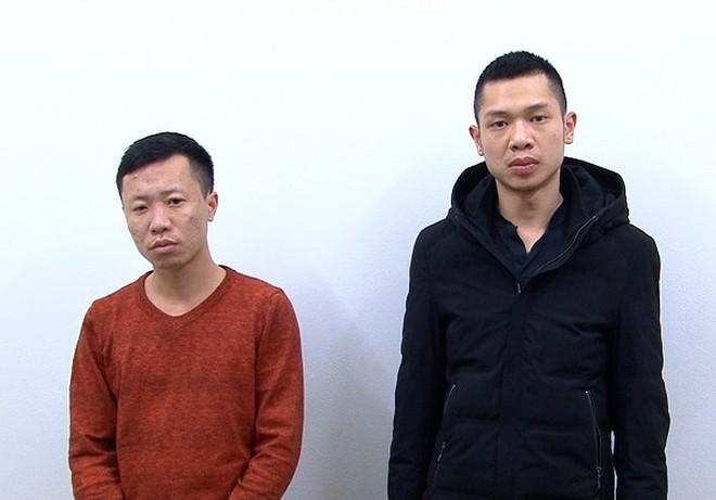 Các đối tượng gây án cướp tài sản tại địa bàn huyện Thường Tín, bị CATP Hà Nội bắt giữ