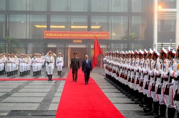 Thủ tướng Nguyễn Xuân Phúc dự Hội nghị Công an toàn quốc lần thứ 75 ảnh 1