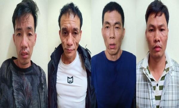 Ổ nhóm trộm cắp tài sản nhà dân bị CAQ Đống Đa bắt giữ