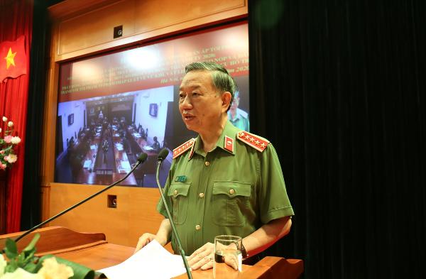 Bộ trưởng Tô Lâm chủ trì hội nghị
