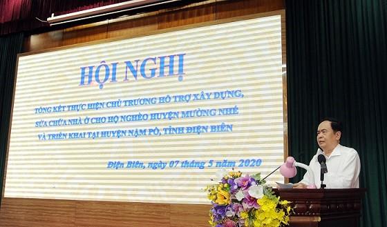 Đồng chí Trần Thanh Mẫn, Chủ tịch Ủy ban Trung ương MTTQ Tổ quốc Việt Nam