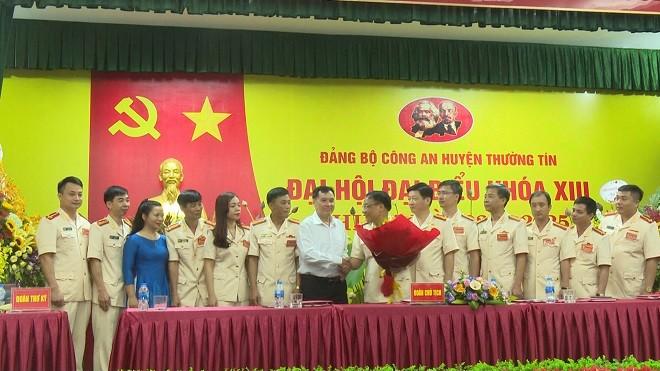 Ban chấp hành Đảng bộ CAH Thường Tín ra mắt Đại hội