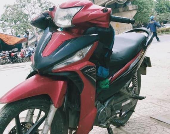 Chiếc xe máy của nạn nhân bị Diu và Vỹ cướp