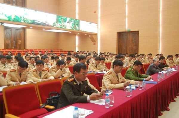 Các đại biểu và CBCS tham gia Hội nghị tập huấn