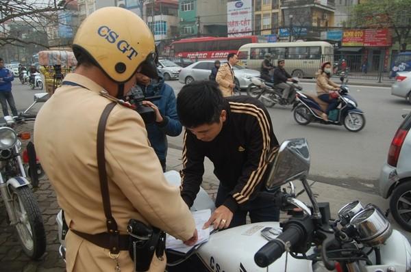 CSGT xử lý nghiêm một trường hợp vi phạm Luật Giao thông qua hệ thống camera xử phạt
