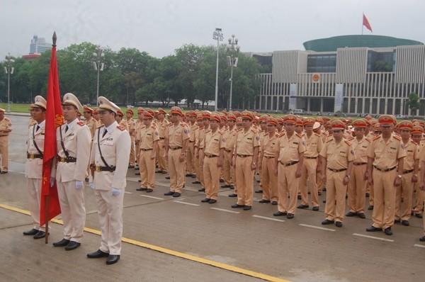 Lực lượng CSGT Thủ đô mãi mãi khắc ghi lời dạy của Chủ tịch Hồ Chí Minh, luôn phấn đấu, rèn luyện, tu dưỡng, hoàn thành xuất sắc mọi nhiệm vụ được Đảng, Nhà nước, nhân dân giao phó