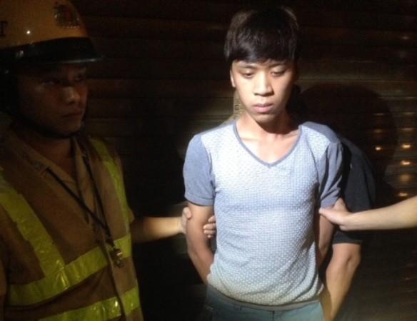 Trần Lực bị Y8/141 bắt giữ khi đang vận chuyển ma túy