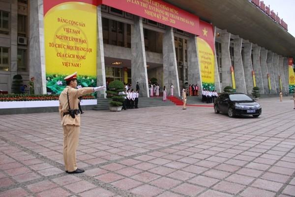 Đảm bảo tuyệt đối ATGT phục vụ Đại hội Đại biểu lần thứ XVI của TP Hà Nội ảnh 3
