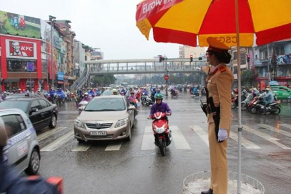 Giao thông được đảm bảo thông thoáng, phòng ngừa ùn tắc
