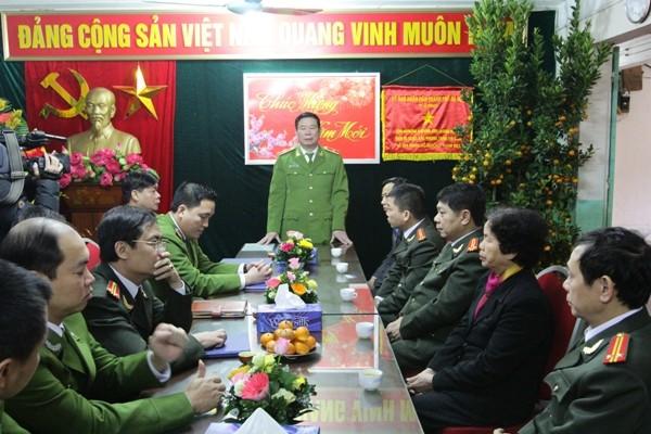 Đồng chí Phó Giám đốc chỉ đạo CBCS CAP Nam Đồng phải đảm bảo tuyệt đối ANTT cho nhân dân trên địa bàn đón xuân trong bình yên