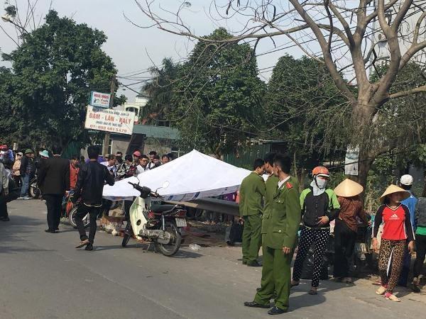 Hiện trường vụ TNGT thương tâm khiến 2 người thiệt mạng