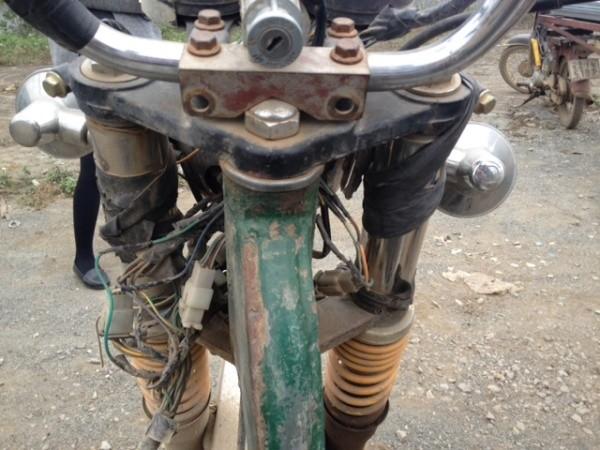Hệ thống dây điện, thiết bị an toàn cũ, không hoạt động