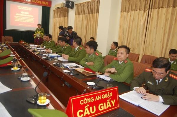 Theo Phó Giám đốc CATP Hà Nội, việc chỉ trong thời gian ngắn CAP, Đội CSHS CAQ Cầu Giấy và các đơn vị nghiệp vụ đã điều tra khám phá thành công vụ án là minh chứng cho thấy công tác phòng ngừa, điều tra cơ bản...của đơn vị được triển khai mạnh mẽ, hiệu quả