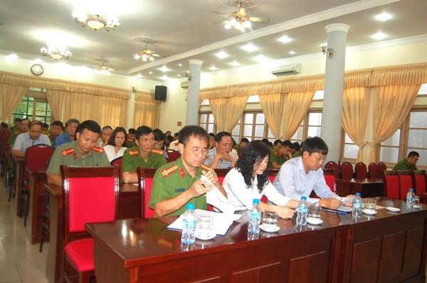 Các đại biểu đều nhất trí cao với những nhiệm vụ trọng tâm được triển khai trong thời gian tới