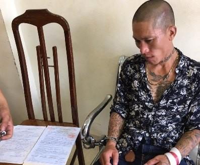 Nguyễn Chí Cường bị đưa về trụ sở CAP Láng Thượng để điều tra xử lý