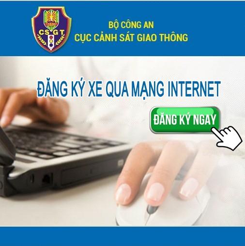 Đăng ký xe qua mạng Internet cho công dân tại Hà Nội và TP Hồ Chí Minh ảnh 1