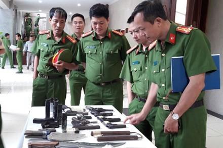 Nhiều băng, ổ nhóm tội phạm hoạt động có vũ khí nóng đã bị CATP Hà Nội phát hiện, triệt xóa trong thời gian qua