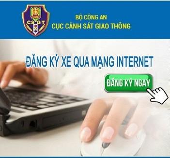 Truy cập Website CSGT chọn mục này