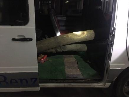Số gỗ sưa được giấu trong xe ô tô bị CSGT phát hiện