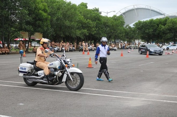 Lực lượng CSGT được tập huấn chuyên sâu phục vụ hiệu quả cho Tuần lễ cấp cao APEC