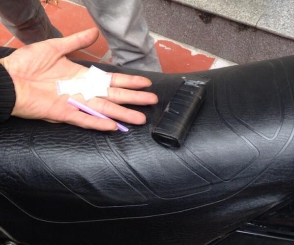 Nhiều gói ma túy được CAP Dịch Vọng Hậu tìm thấy trong xe của đối tượng