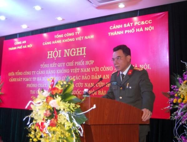 Phó Giám đốc CATP Hà Nội nhấn mạnh cần nâng tầm quy chế để đảm bảo tuyệt đối ANTT trong tình hình mới