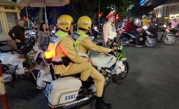Lực lượng CSGT cùng với các đơn vị khác của CATP Hà Nội ứng trực 100% quân số đảm bảo ANTT, TTATGT, không để xảy ra đua xe và cổ vũ đua xe trái phép theo yêu cầu chỉ đạo của Phó Thủ tướng Thường trực Trương Hòa Bình