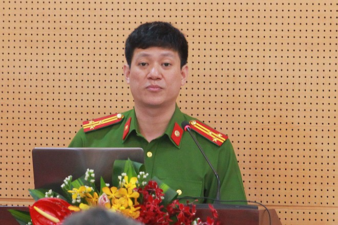 Thượng tá Trần Quốc Trung, Phó trưởng Phòng CSHS CATP Hà Nội đánh giá chung về tình hình tội phạm trên địa bàn TP