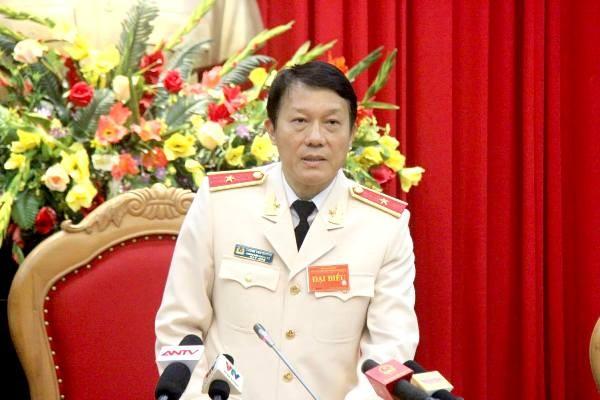Thiếu tướng Lương Tam Quang, Chánh văn phòng - Người phát ngôn của Bộ Công an thông tin tại buổi họp báo