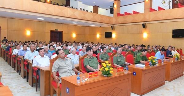 Bộ Công an gặp mặt tri ân những đóng góp to lớn của các thế hệ lãnh đạo Bộ Công an qua các thời kỳ