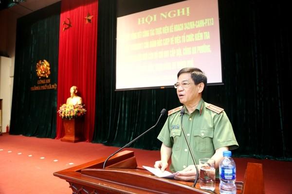 Thiếu tướng Đoàn Duy Khương khẳng định, kết quả kiểm tra sẽ giúp CATP Hà Nội đánh giá, tổ chức hiệu quả công tác cán bộ, chỉ huy