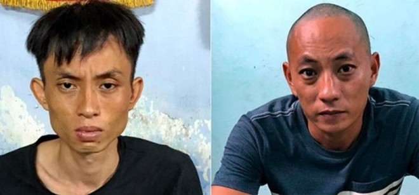 Trần Hoàng Nhất Hùng (36 tuổi), Đàm Minh Quang bị cơ quan Công an bắt giữ về hành vi cướp tài sản