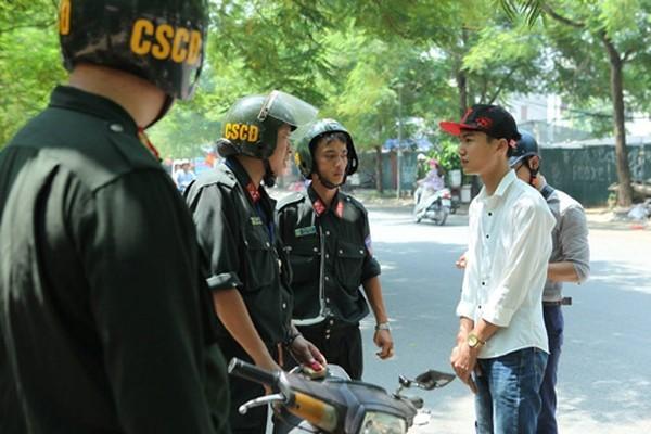 Lực lượng CSCĐ sẽ phối hợp cùng với CSGT trong các tổ công tác nhằm tuần tra, xử lý nghiêm những vi phạm liên quan đến mũ bảo hiểm trên toàn thành phố